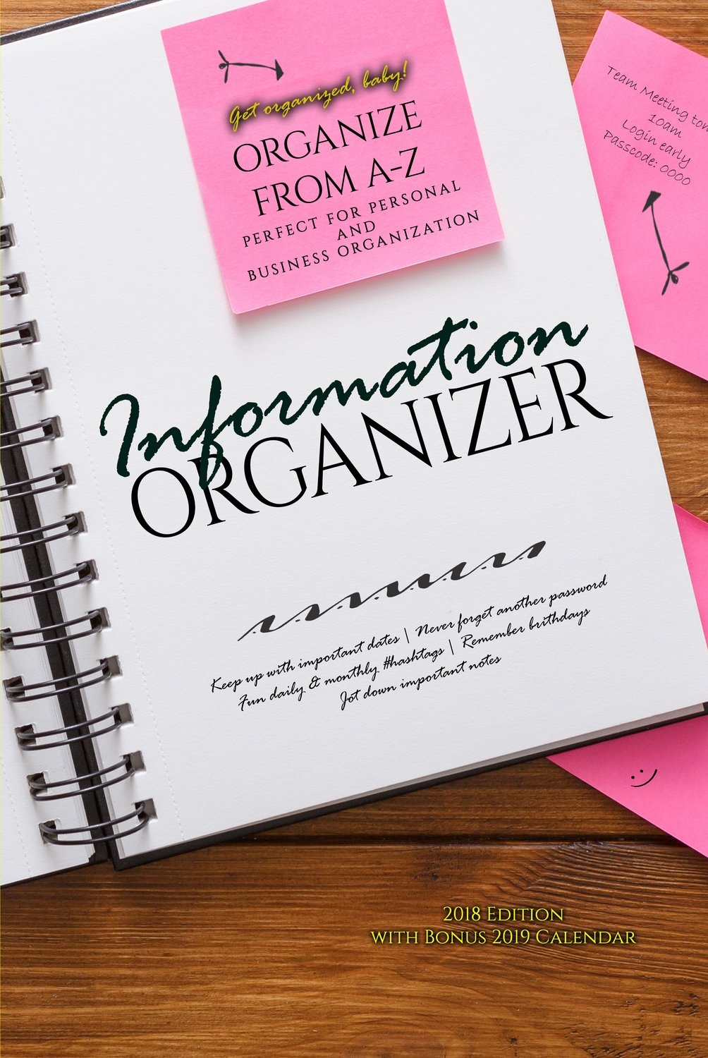 Information Organizer - Organize from A-Z