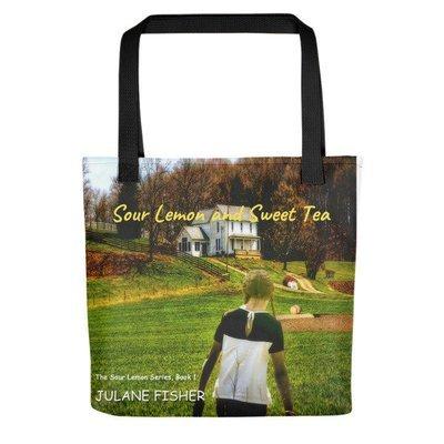 Sour Lemon and Sweet Tea Tote bag - MG novel recipient of the Reader's Favorite award