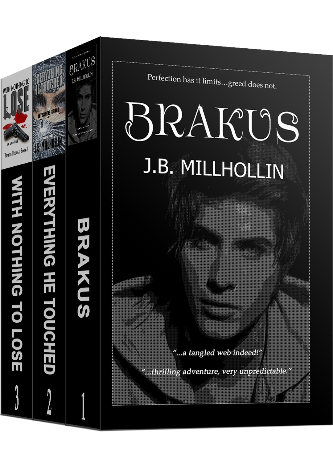 Brakus Trilogy Paperback Set (Books 1-3)