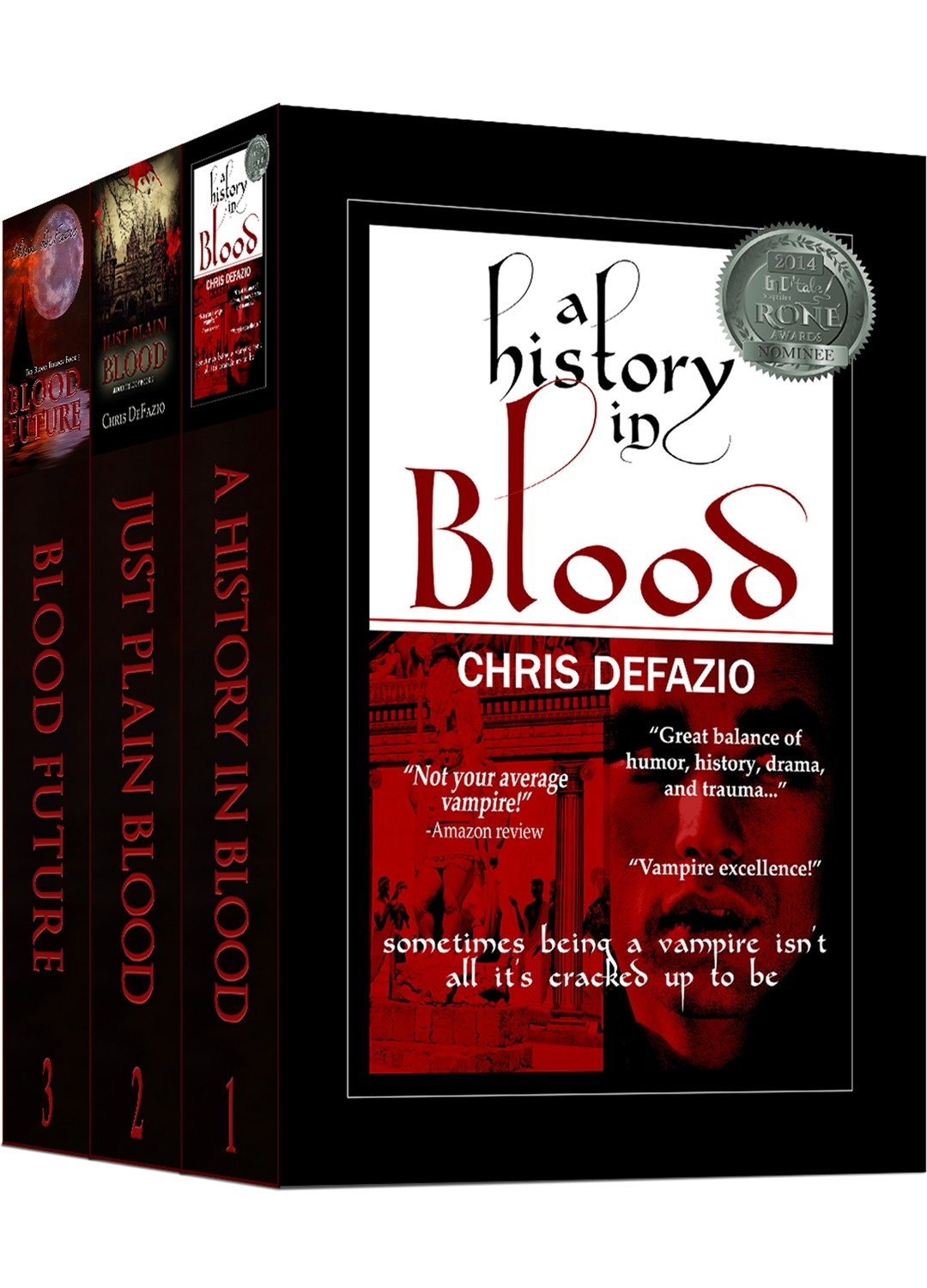 The Blood Trilogy (Books 1-3) - Paperback Set