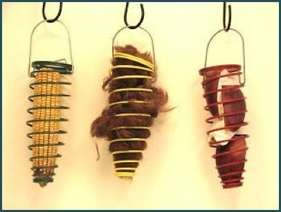 Hanging Corn Cob Feeder