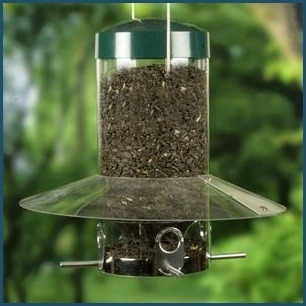 "Squirrel-proof hanging 12"" classic feeder"