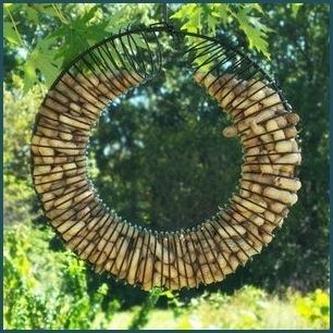 SE6020 Whole Peanut Wreath