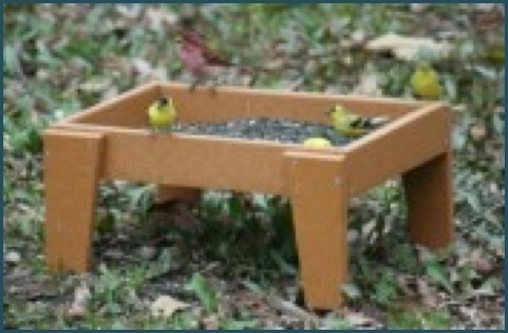 Recycled 12X16 Ground Feeder