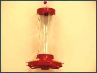 No Drip 16 oz. Glass Hummingbird Feeder #210