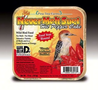 Never melt Hot Pepper Suet