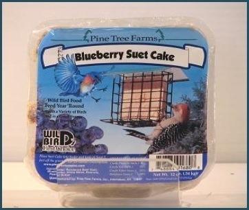 Blueberry suet cake 12oz.