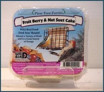 Fruit, berry and nut suet cake 12oz.