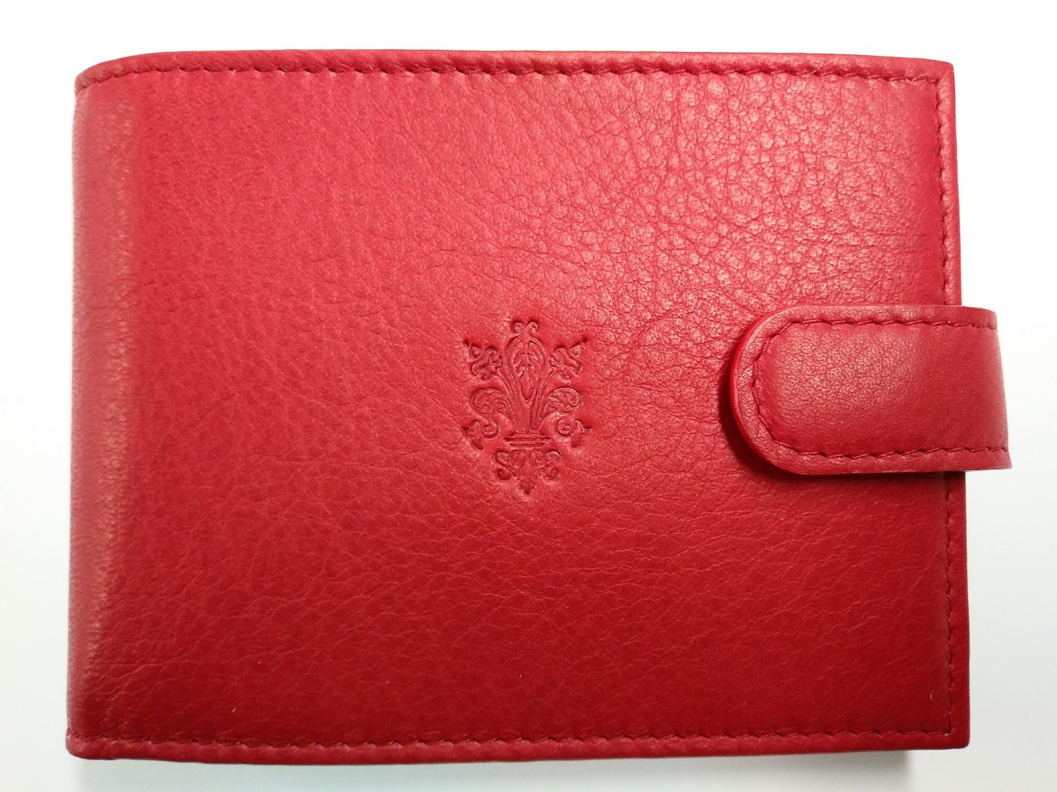 Tuscany red leather wallet
