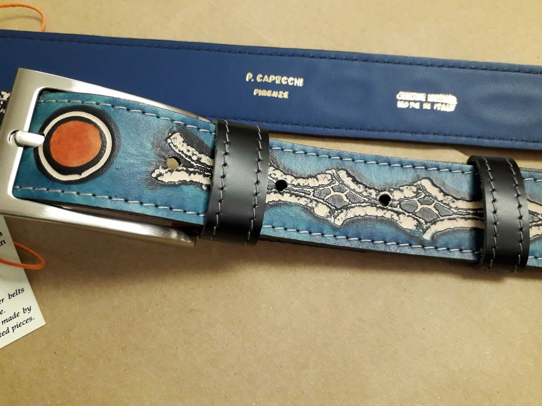 Original leather belt P.Capecchi
