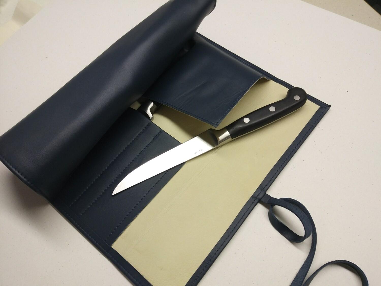 Steak knifes roll bag