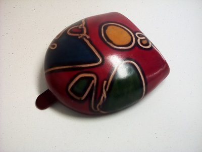 Original handpainted leather TACCO