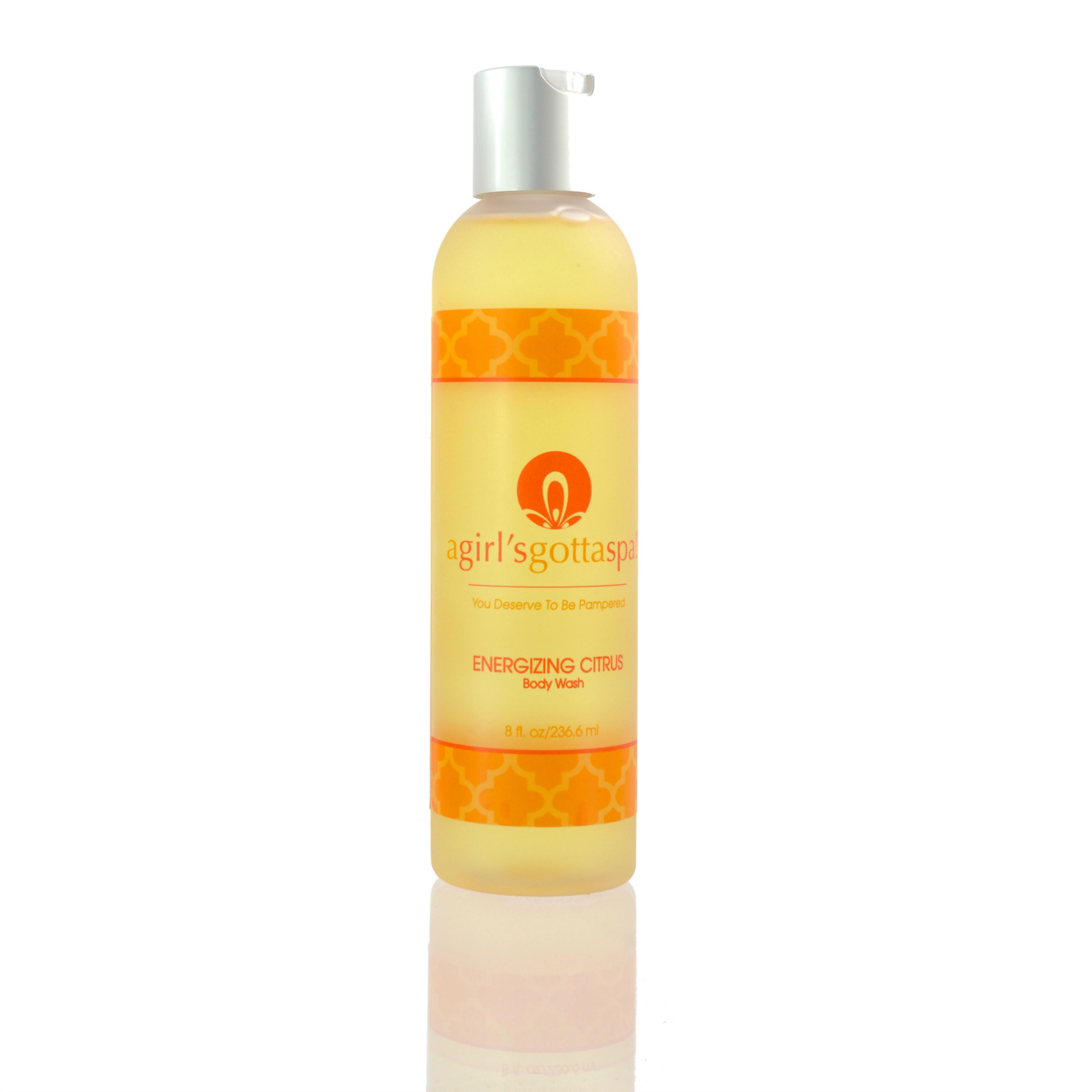 Energizing Citrus Body Wash 01BWEC
