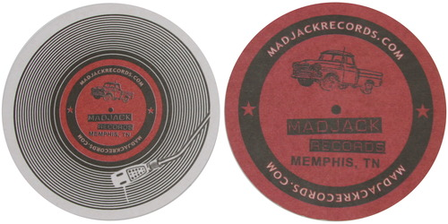 MADJACK Records Coasters 25 Pack 0000003