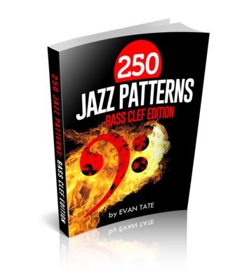 250 Jazz Patterns: Bass Clef Edition! (eBook)