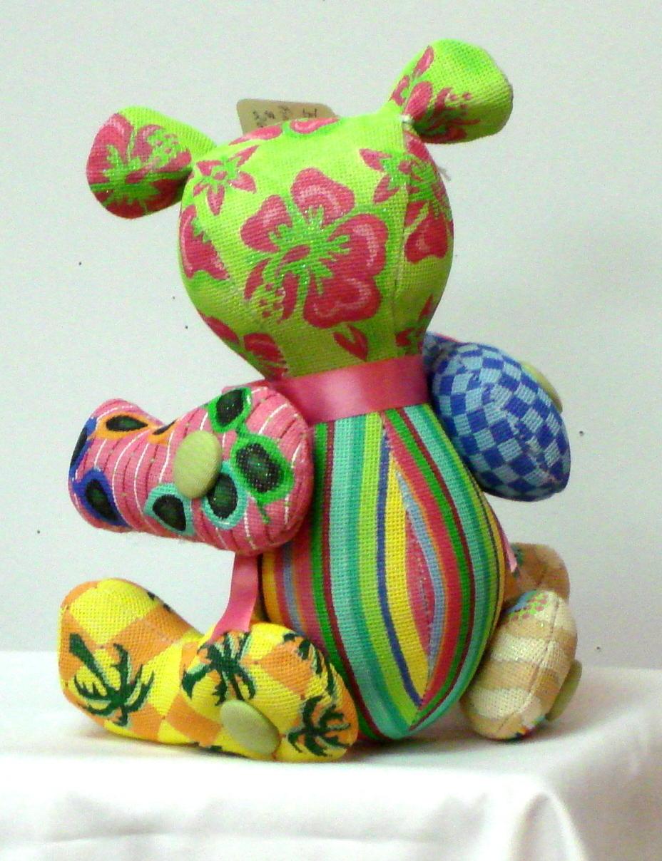 3D Boo Bear      (Handainted Canvas by Associated Talent)