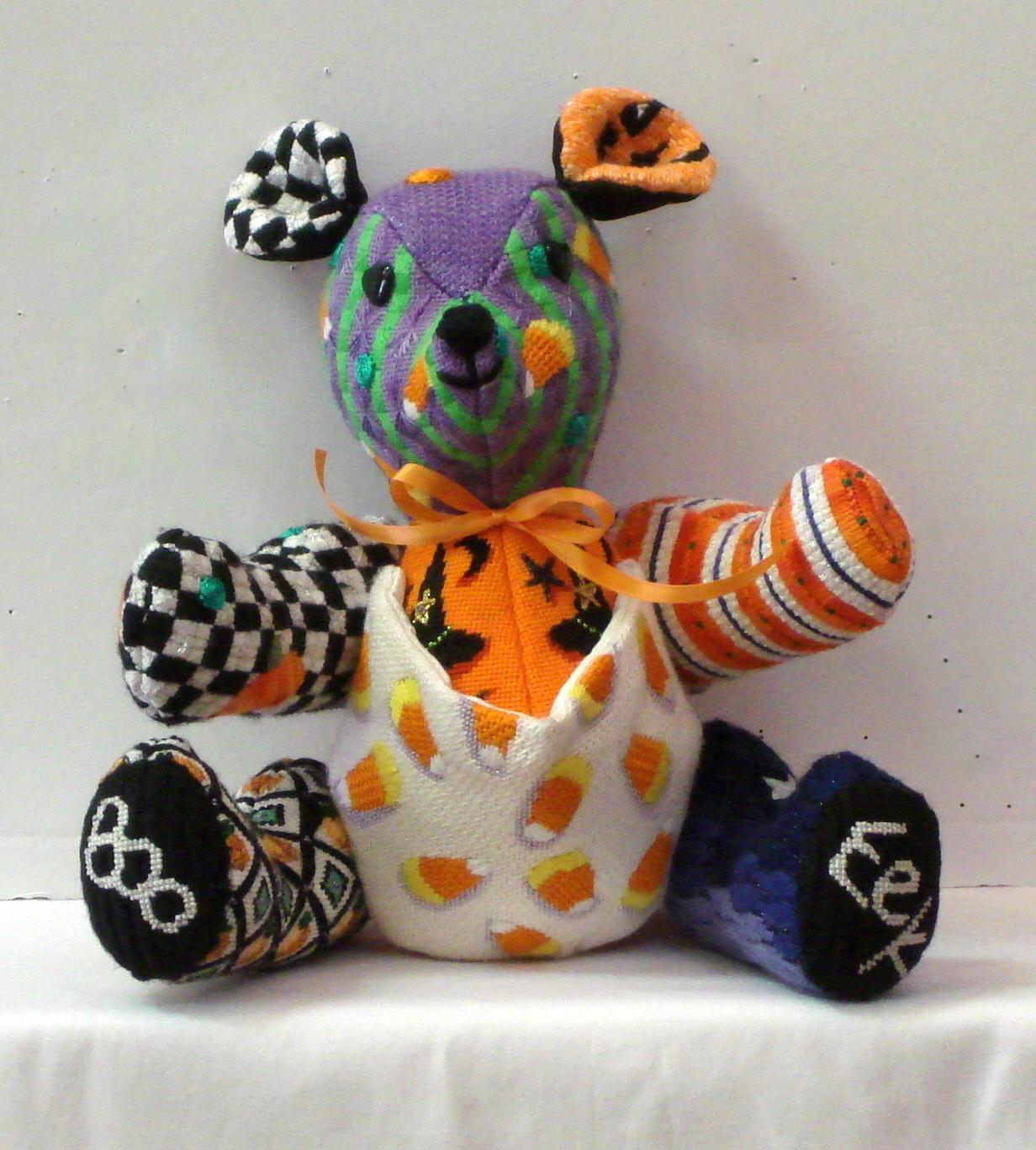 Halloween 3D Bear