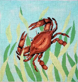 Seaweed Crab      (handpainted by Susan Roberts) 18*1069