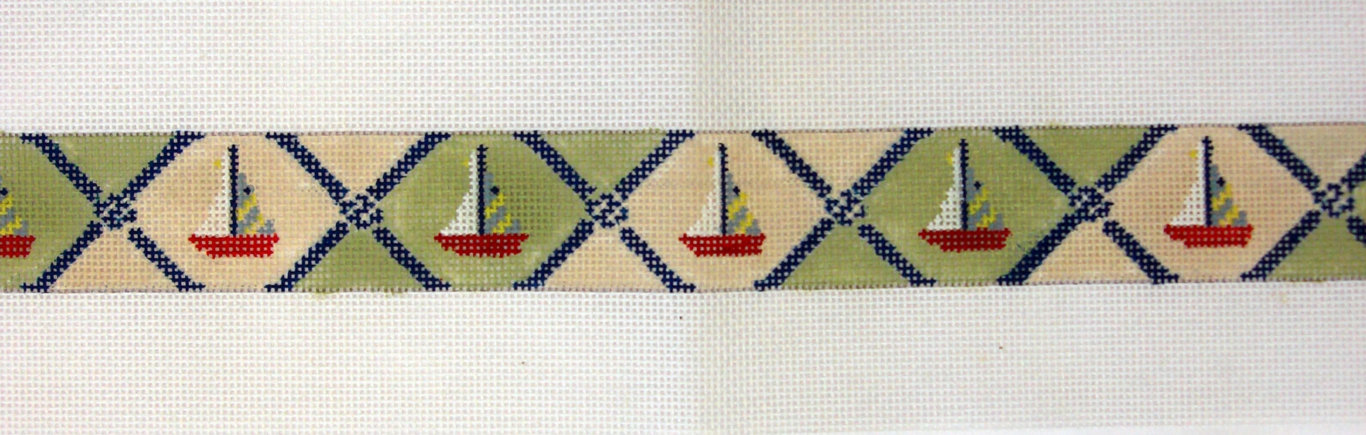 Boats & Ropes      (Handpainted by Walker Street Designs) 18*B-258