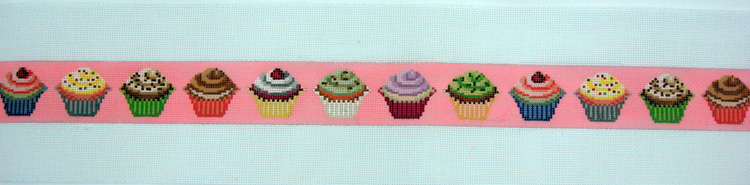 Cupcake Belt (Handpainted by Itz A Stitch) 18* 112744