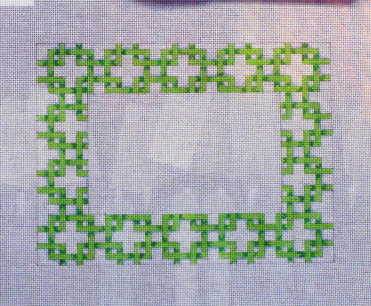 Green Lattice Picture Frame A09-PF672