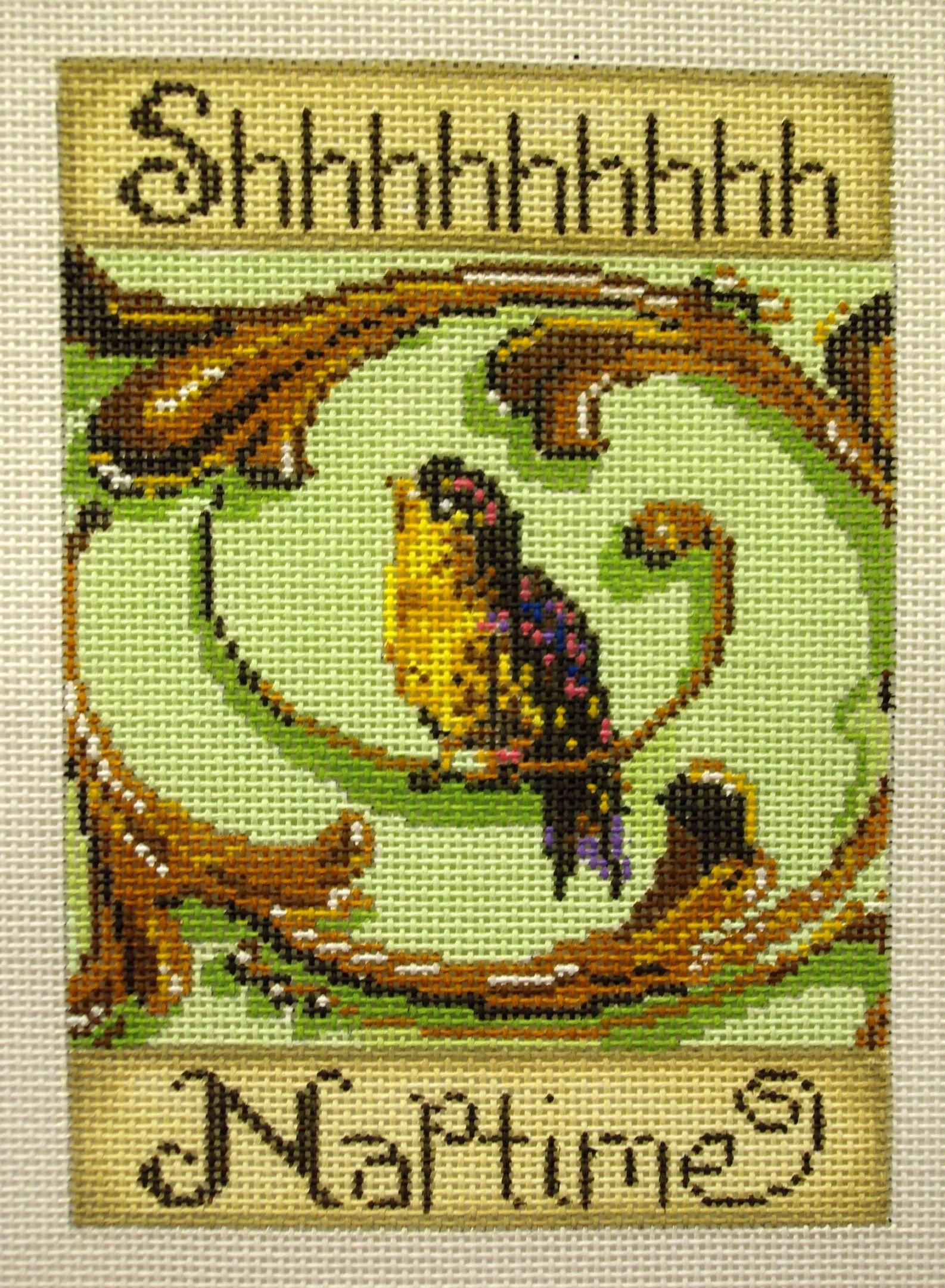Shhh Naptime,  Sweet Bird Sign   (Patti Mann) *11478