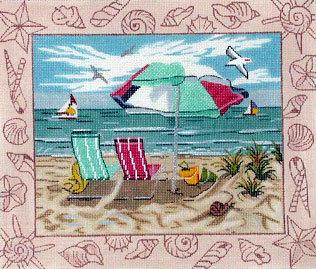 Beach Scene 2   (Alice Peterson) *1544