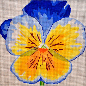 Pansy      (handpainted by Jean Smith) 18*139C-14