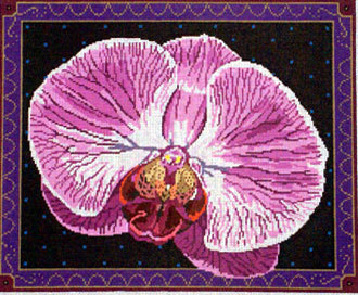 Singapore Orchid    (handpainted from Barbara Russell) *BR167