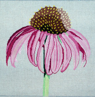 Regal Cornflower   (handpainted by Jean Smith) 18*15N