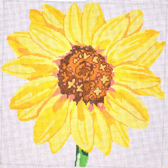 Large Sunflower      (handpainted by Jean Smith) 18*139-C5