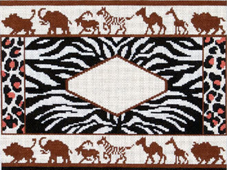 African Animals (Handpainted by The Point Of It All Designs) 18*P-182