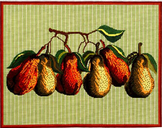 Pears  (Handpainted by Whimsy & Grace Designs) 18*WG12271