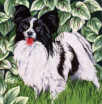 Papillion      (Handpainted by Barbara Russell Designs) 18*BR150