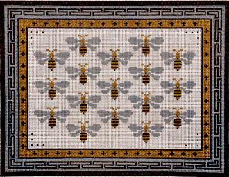 Sew Bee It       (Handpainted by JP Needlepoint) 18*B-280