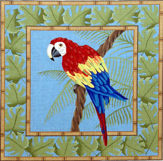 Toucan in Palm Leaves      (JP Designs) *B-342