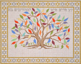Tree of Life for Those Who Grasp It      (handpainted bySusan Roberts) 18*EP-0173