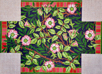 Wm's Sweetbriar Brick Cover (Handpainted by Whimsy & Grace Designs) 18*WG11698-13