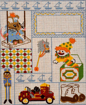 Boy Sampler  (All About Stitching) /531