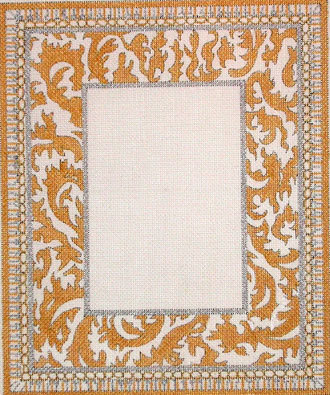 50th Golden Anniversary Picture Frame  (handpainted from Meredith Collection) 18*F-87-A
