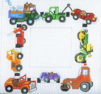 Cars & Trucks Picture Frame   (Merideth Collection) *F54