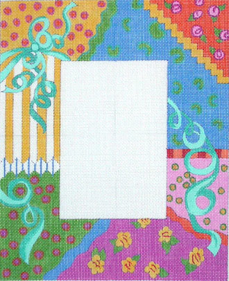Ribbon Collage Picture Frame A42-F27A