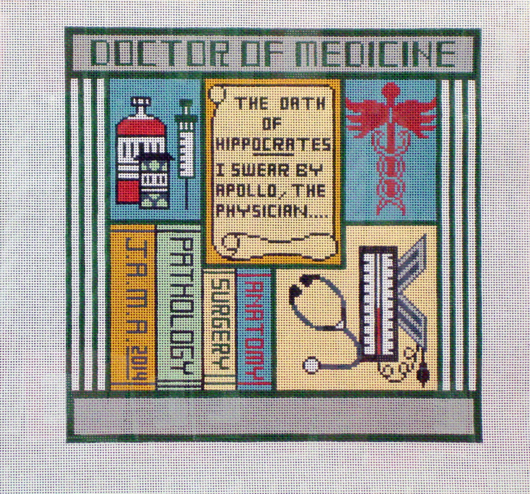 Doctor (Large)    (Handpainted by Magic Needle, Inc) 18*MN94