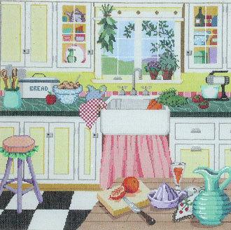 Grandma's Kitchen   (Fleur de Paris) *18-174