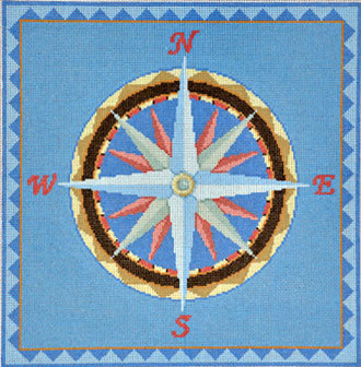 Nautical Compass  (Susan Roberts) *1035