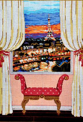 Paris Window     (Sandra Gilmore) *18-912