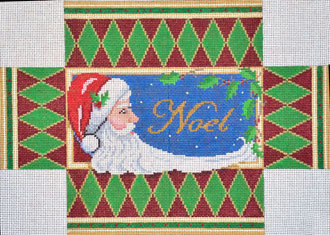 Noel Santa Brick Cover    (handpainted by Susan Roberts)