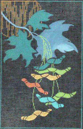 Blue Maple w/ Stitch Guide A91-821