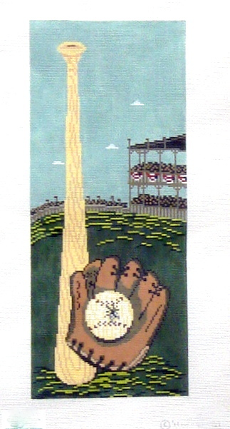 Fly Ball   (Handpainted by Cooper Oaks) 18*WK-2061