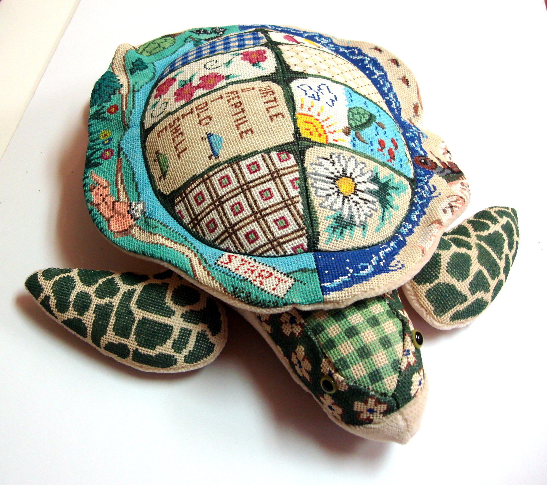 "Turtle Canvas, ""Bobby""  (3D Assembled Finished Model Shown) (Patti Mann) *6200"